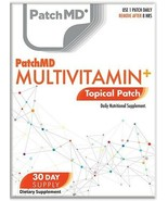 New Formula! PatchMD Multivitamin Plus Topical Vitamin Patch 30 Day Supply - $14.99