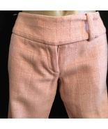 Arden B pink plaid wool blend mid rise dress pants 1 - $29.95