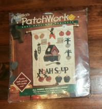 "Noah Soup Bucilla Patchworks Easy Applique 13"" x 17"" Unopened - $9.74"