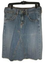 Levi's Distressed Jean Skirt Size 10 - $16.93