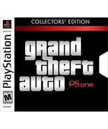 Grand Theft Auto Collectors' Edition PS1 Great Condition Complete Fast S... - $47.43