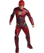 Rubini Dc Comics Flash Justice League Lusso da Uomo Adulto Costume Hallo... - £44.65 GBP