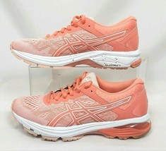 ASICS GT 1000 Womens SIZE 7.5 Vibrant Peach Running Shoes Sneakers T7A9N image 2