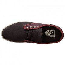 VANS OTW COLLECTION LUDLOW + LEATHER HENNA BROWN SHOES MENS SZ 7.5 BURGUNDY image 2