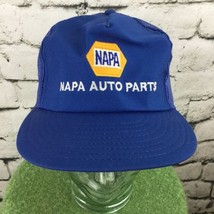 Napa Auto Parts Blue Trucker Hat Mesh SnapBack Vintage Advertising - $24.74