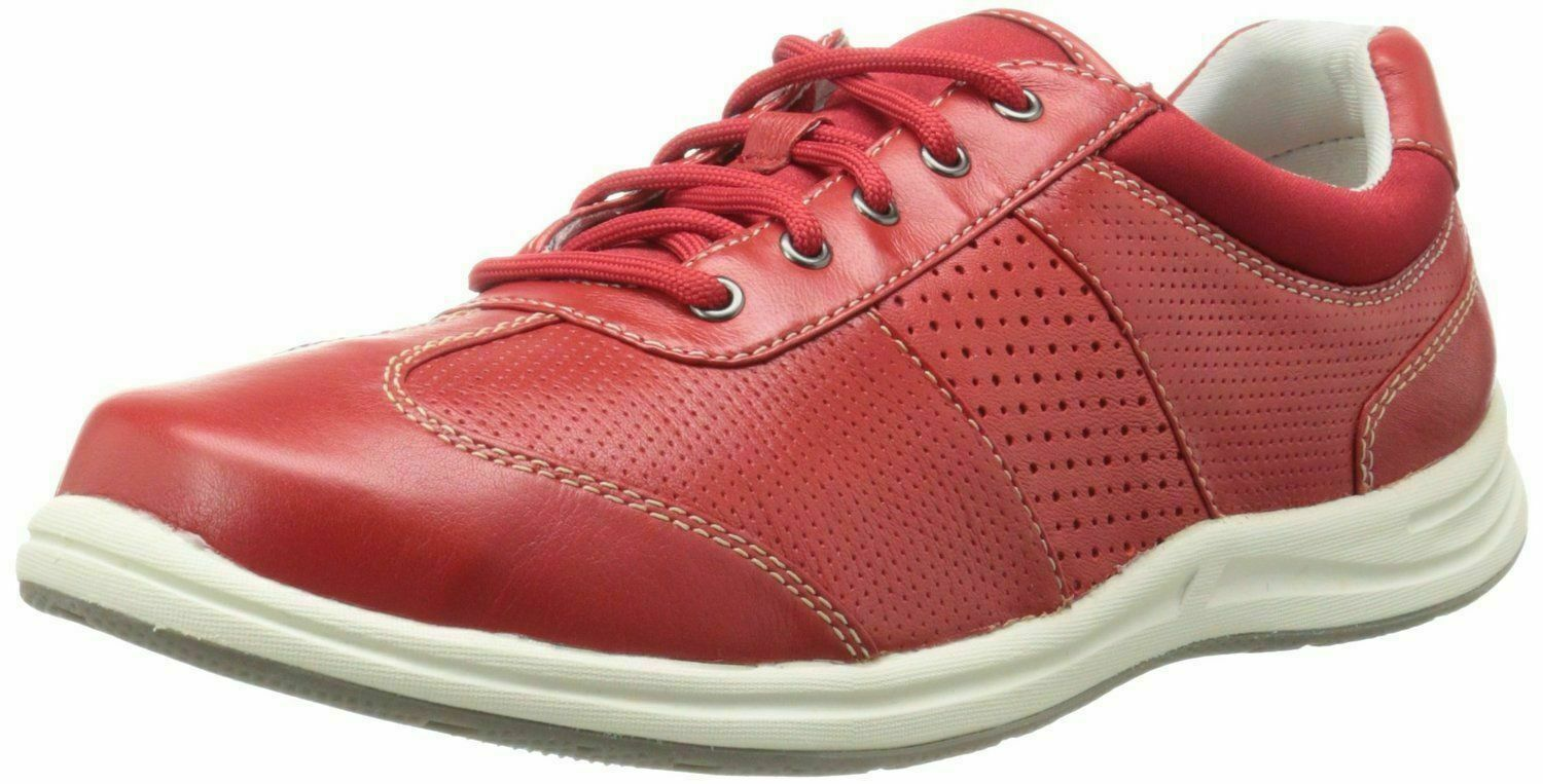 ROCKPORT Women's XCS Walk Together Red Sneaker Lace Up Shoes Windchime 5.5W - $67.16 CAD