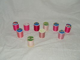 Sewing Thread 10 Spools Quilting 18429 Coats Clark Trusew - $9.81