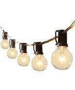 G40 Outdoor Patio String Light 50Feet Connectable Globe Lights (50 ft|Bl... - £35.28 GBP