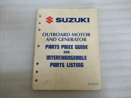 PM140 1990 Suzuki Outboard Motor & Generator Manual P/N 99924-90701 - $18.52