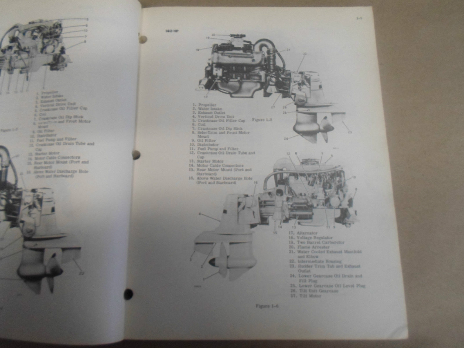 1973 Omc Shop Reparatur Service Manuell 100 120 165 225 245 hp 980249 OEM Boot