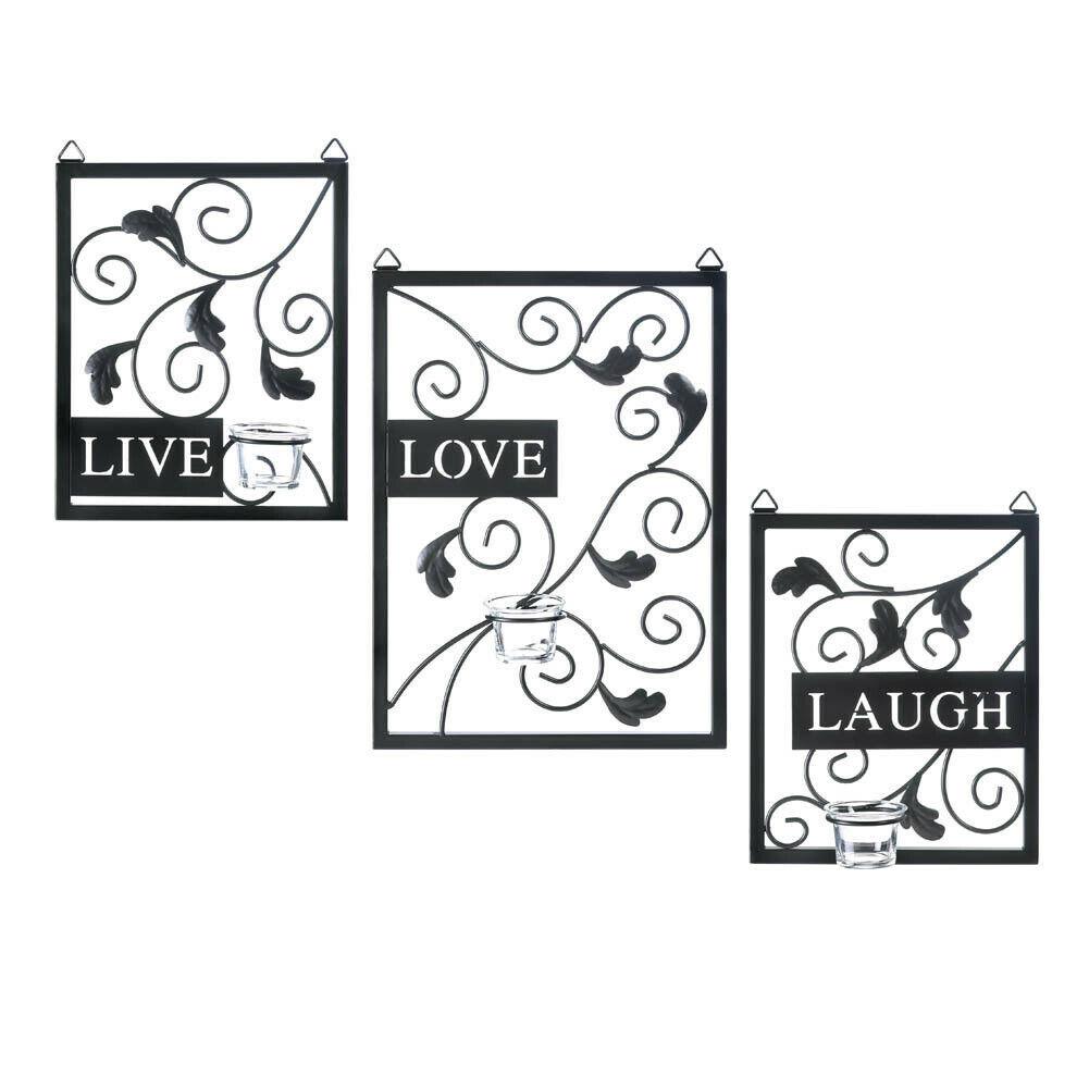Live, Love, Laugh Wall Decor - $84.27