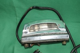 Mercedes W108 W109 W111 250 280 300 S SE Chrome Rear License Tag Plate Lights image 2