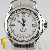 Omega Ω Men's Stainless Steel Seamaster Quartz Watch 120 m Date Feature ... - $935.55