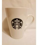 Starbucks 16 fl oz Mug 2016 - white with Mermaid Logo - $9.89