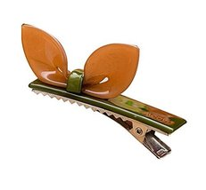 Set of 2 Rabbit Ear Hair Pin Fashion Hair Clip/Hairpin,Brown/Green