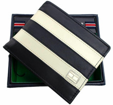Tommy Hilfiger Men's Leather Credit Card ID Wallet Passcase Billfold 31TL22X040 image 2