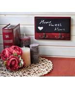Cute Cherry Coat Rack or Memo Board for Hallway, Wallmount Message Cente... - $20.39