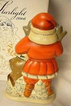 Vaillancourt Folk Art 17th Starlight Santa  Signed by Judi! Last one! image 2