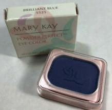 Mary Kay Powder Perfect Eye Color Brilliant Blue 5525 Eye Shadow - $11.99