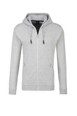 New Hugo Boss Men's Premium Zip Up Sport Hooded Sweatshirt Track Jacket 50372060