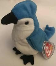TY Beanie Baby Rocket The Bird Blue Jay 1997 - $4.88