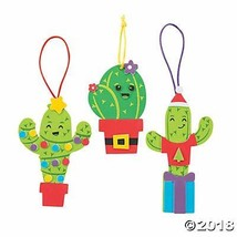 Christmas Cactus Ornament Craft Kit - Crafts for Kids and Fun Home Activ... - $33.99