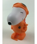 Snoopy NASA Wind up Walking Dancer Mover #7 Space Toy Peanuts 2019 McDon... - $13.81