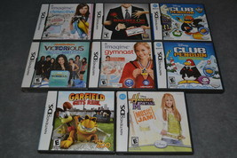 Nintendo DS: 8 Game Lot [COMPLETE] - $18.00