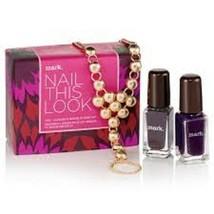 Avon mark nail this look nail polish with bracelet and ring set - $16.83
