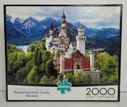 Neuschwanstein Castle, Bavaria Jigsaw Puzzle 2000 Pieces New Buffalo Games - $19.99
