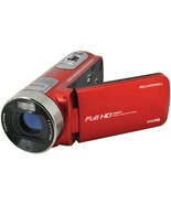Bell+Howell DV50HD-R 20.0-Megapixel 1080p DV50HD Fun Flix Camcorder (Red) - $131.86