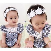 Newborn Infant Kids Baby Girls Floral Romper Jumpsuit Bodysuit Clothes O... - $22.00
