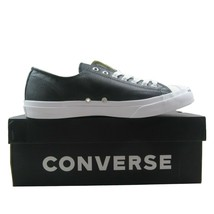 Converse Jack Purcell Leather OX Shoes Black White 1S962 Mens Multi Size - £47.37 GBP