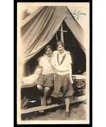 Girlfriends Birch Cove Camp Tent Vintage Camping Bloomers Sweet Summer P... - $14.99