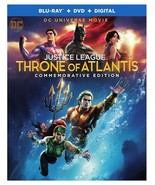 Throne of Atlantis Commemorative Blu-ray + DVD Digital Code MAY BE EXPIRED NEW - $8.78
