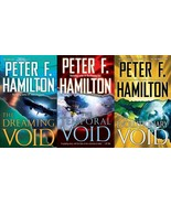 Peter F Hamilton THE VOID Sci Fi Adventure Series Paperback Collection B... - $21.99