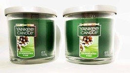 1513586 Yankee Candle Green Shimmering Pine Small Tumbler College Dorm 2 - $18.34