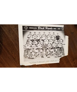 1952-53 Originale Johnson Co Chicago Blackhawks Team Foto Gatsby Mosienk... - $39.94