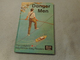 Vintage 1970  Lady Bird Book Danger Men - $8.41