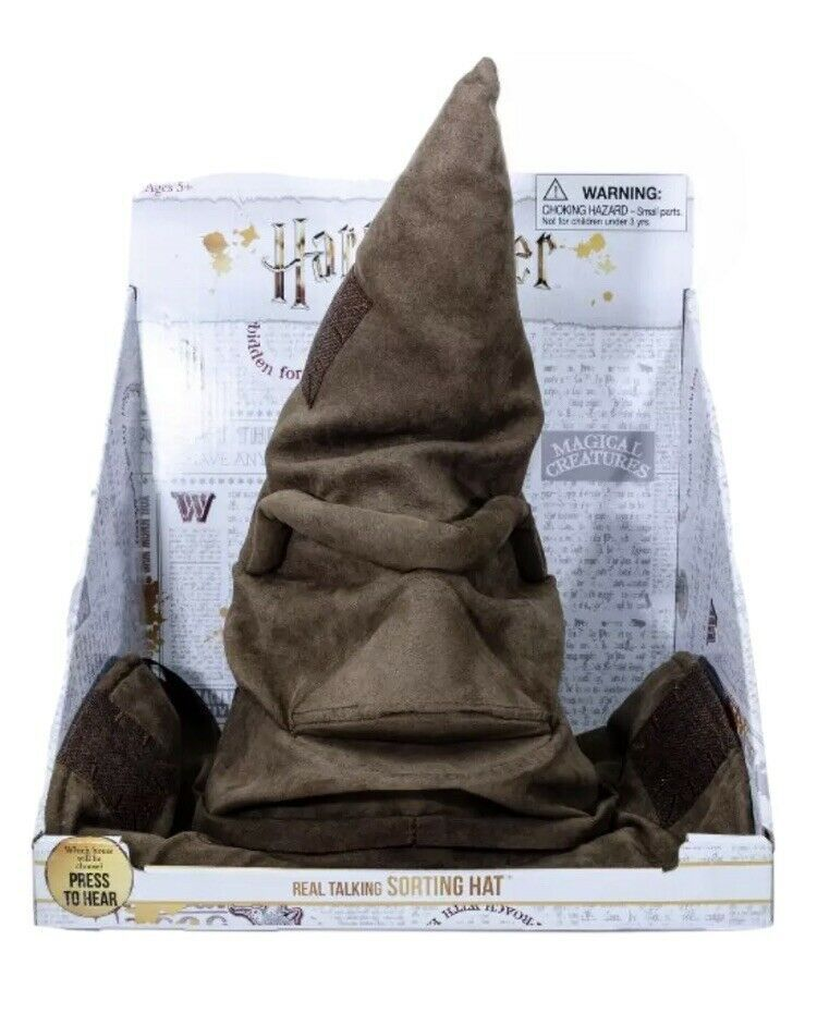 Primary image for NEW  Harry Potter Real Talking Sorting Hat Awesome Gift Halloween Or Tree Topper