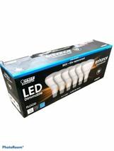 FEIT LED DIMMABLE ENHANCE FLOOD LIGHT BR30 from 65W to 8.3 watts 6-Pk Da... - $14.85