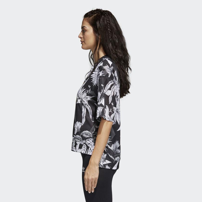 3144a5210fb New Adidas Originals 2018 Women Farm Tee Multicolor Flowers Tshirt CY7375