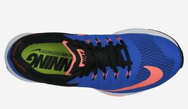 NIKE WOMEN'S AIR ZOOM ELITE 7 SHOES SIZE 6 hyper cobalt mango black 654444 400 image 3