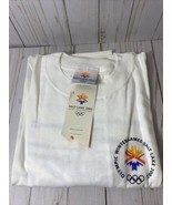 Salt Lake 2002 Utah Olympics T Shirt L Mens Adult Winter Games NWT -spon... - $27.09