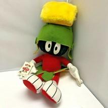 Vintage Jumbo Looney Tunes Marvin the Martian Plush Stuffed Doll Soft To... - $179.99
