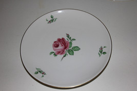 """Hutschenreuther """"Rosengarten"""" 2 Dinner & 2 Salad Plates + Bread & Butter Plate - $14.85"""