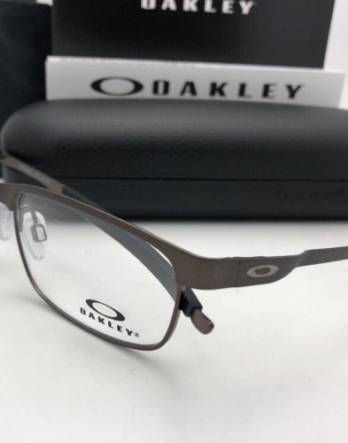 992fcaa3300 New OAKLEY Eyeglasses STEEL PLATE OX3222-0254 54-18 141 Powder Cement Frames