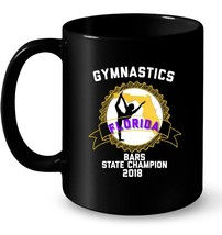 2018 Gymnastics Florida State Bars Champion Bars Ceramic Mug - $13.99+