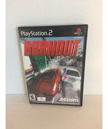 Burnout (PlayStation 2, PS2 2001) COMPLETE! - EX! Video Game - $14.99