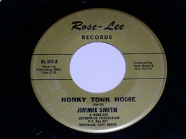 Jimmie Smith Honky Tonk Home Why You  Had To Change 45 Rpm Record Rose L... - £10.02 GBP